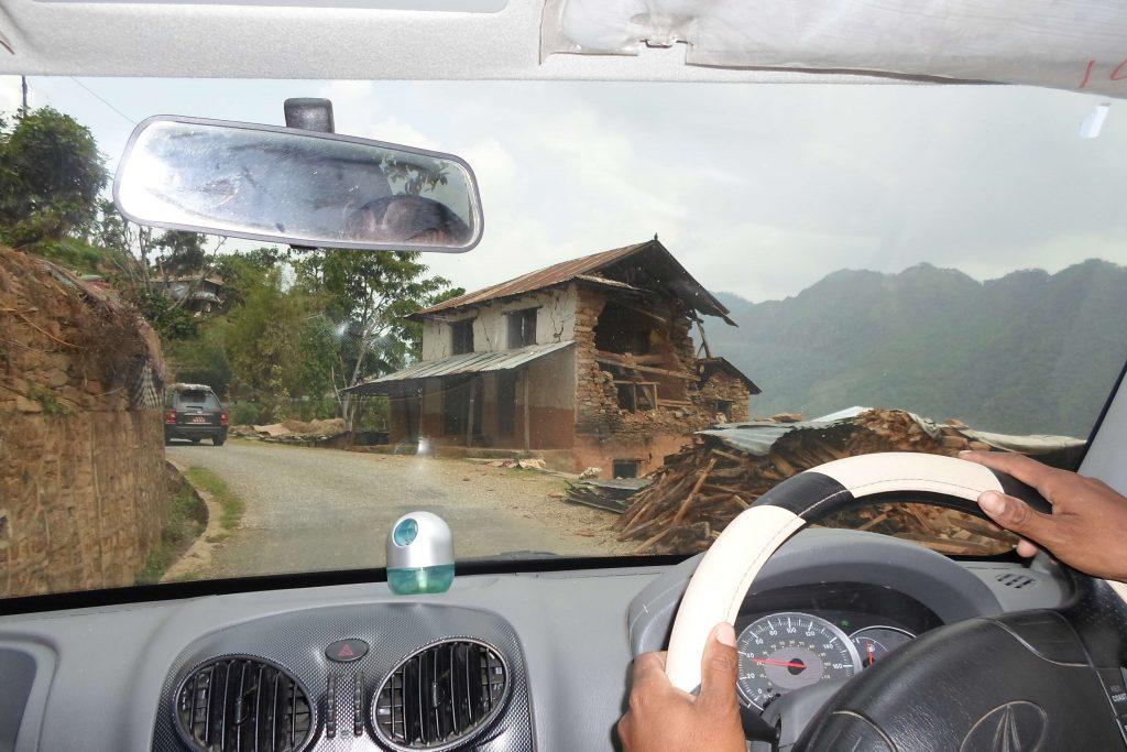 Jeepstuur in Nepal